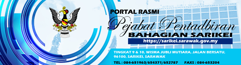 Welcome to Official Portal of Sarikei Divisional Administration